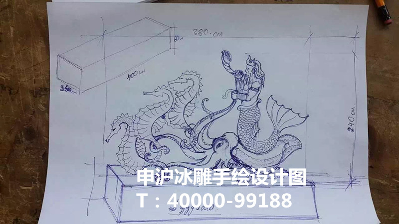 申沪手绘图